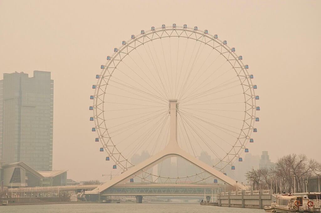 1. Tianjin Eye Ferris Wheel - China - Source: Flicker/Erick Pessoa