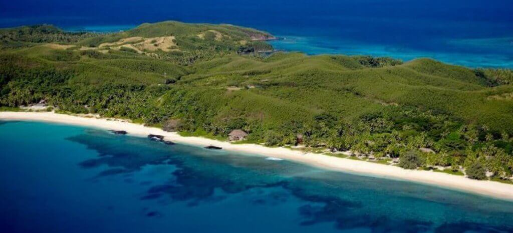 4. Yasawa Island Resort and Spa - Aerial