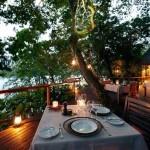 Dining in Namale Resort & Spa Fiji 2015