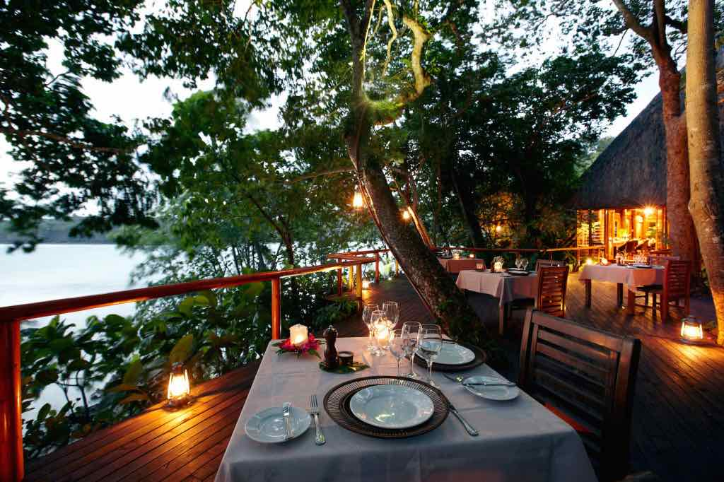 Dining in Namale Resort & Spa Fiji 2015