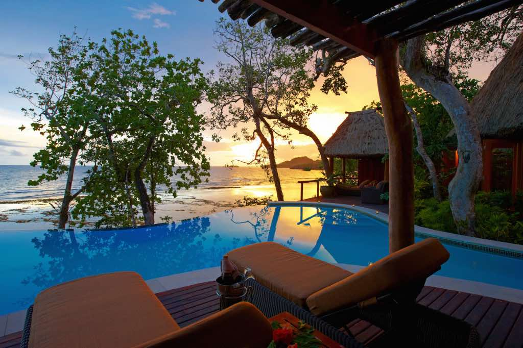 Sunset in Namale Resort & Spa Fiji 2015