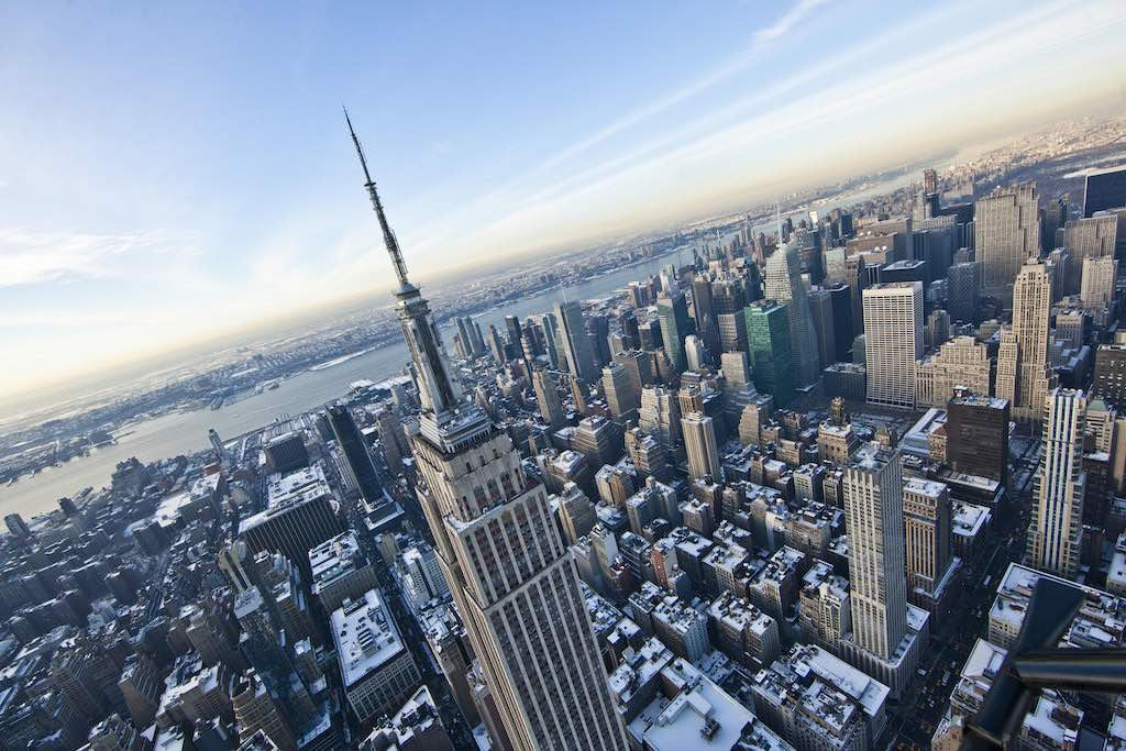 Empire State Building view, New York City - by Anthony Quintano:Flickr