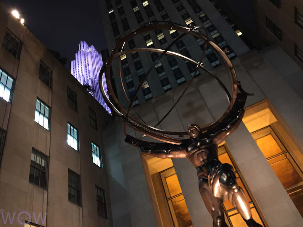 Rockefeller Center, New York City - by WOW Travel