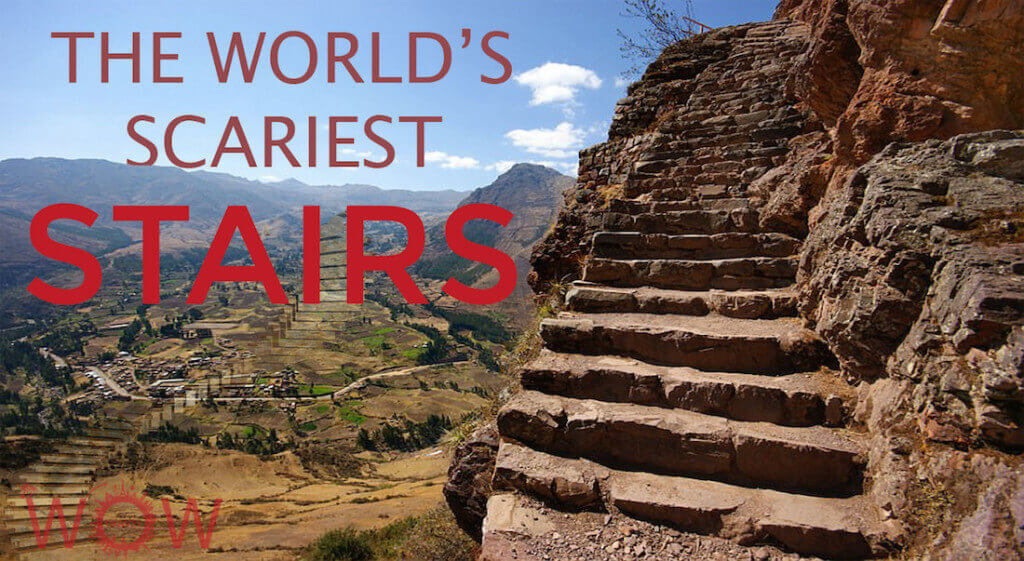 The world's Scariest Stairs