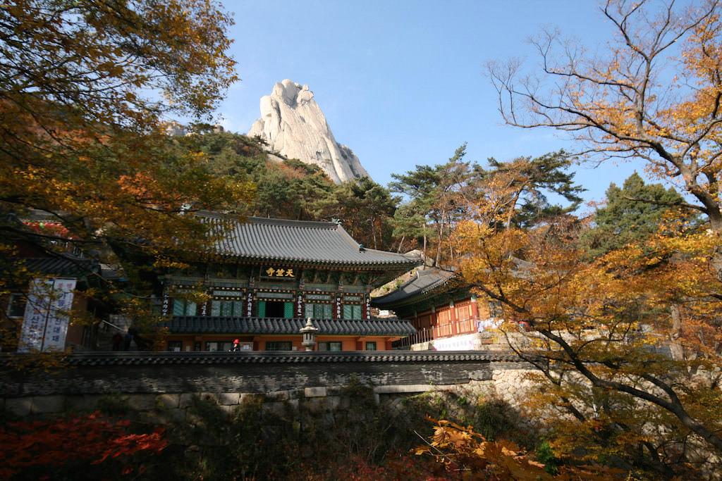 Bukhansan Mountain, Seoul - by Steffen:Flickr