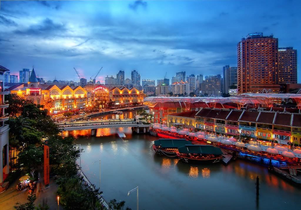 Clarke Quay, Singapore - by Erwin Soo