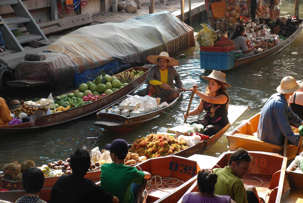 Damnoen Saduak Floating Market, Thailand - by Xiquiho Silva:Flickr