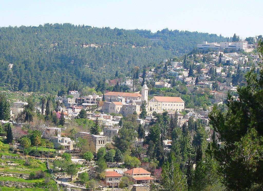 Ein Karem, Jerusalem - by Gila Brand - Gilabrand:Wikimedia