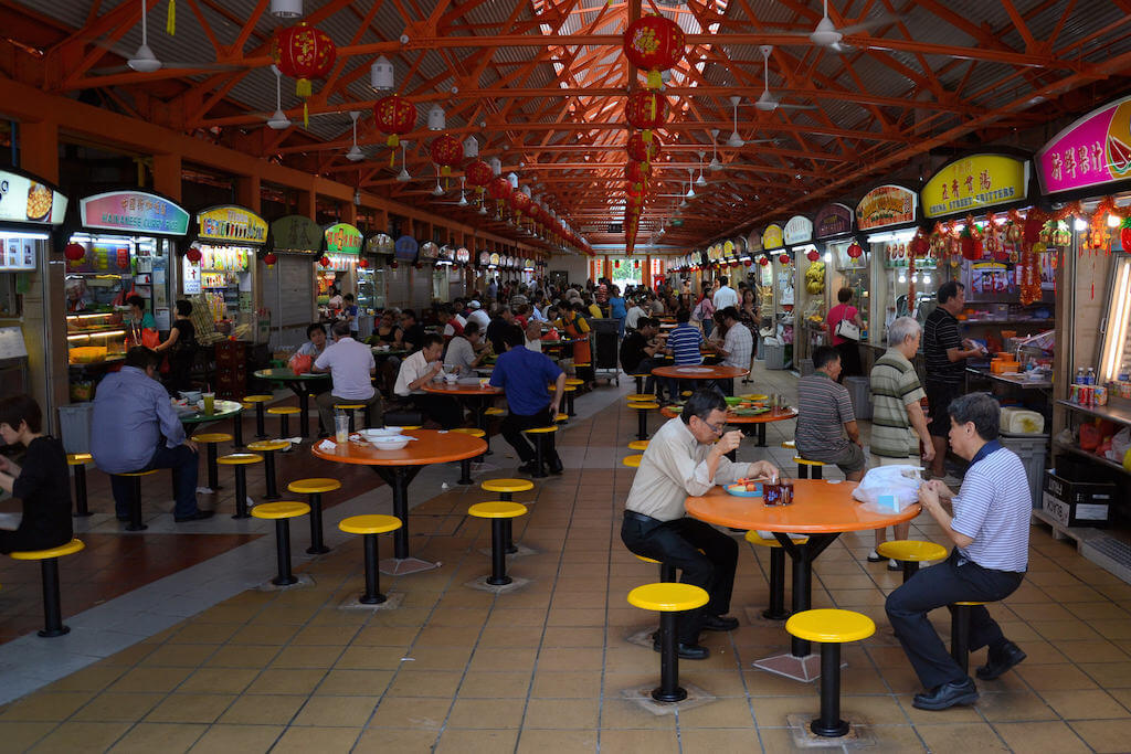 Maxwell Road Hawker Food Centre, Singapore - by Aapo Haapanen:Flickr