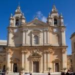 St Paul's Cathedral, Mdina, Malta - by Tony Hisgett:Flickr