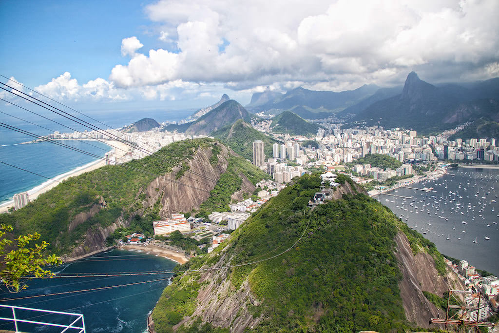 Sugarloaf Mountain, Rio De Janeiro - by Cathy Arkle:Flickr