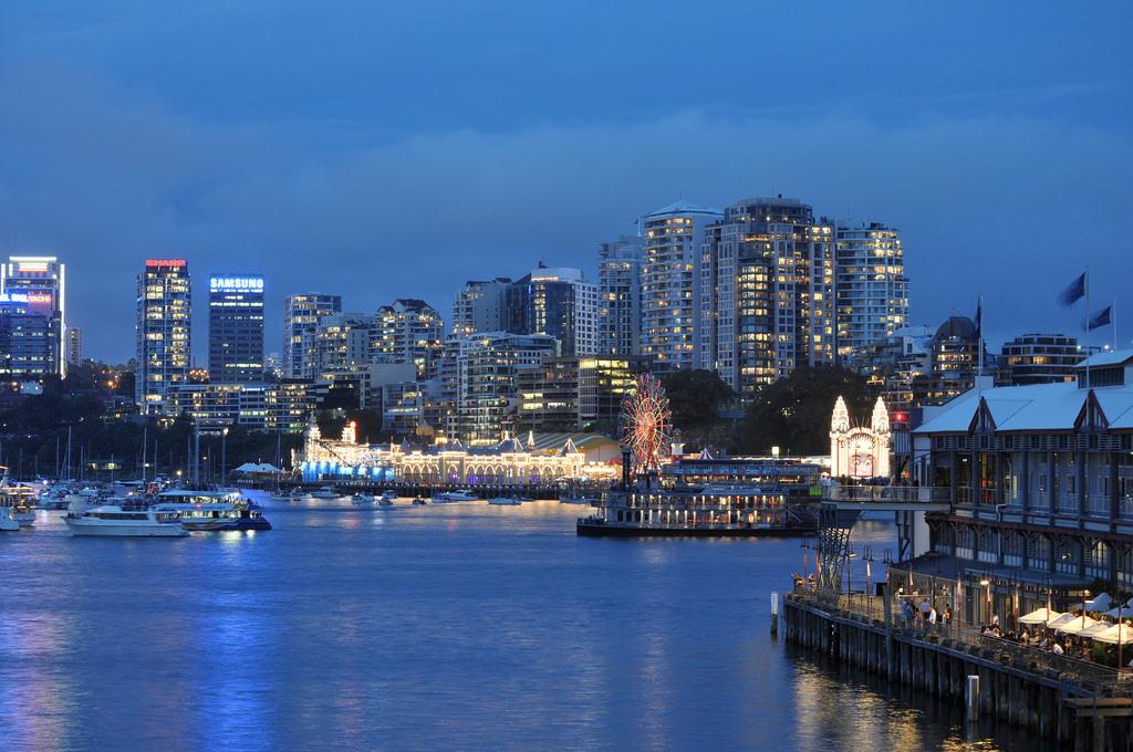 Sydney Harbour - by Malcolm Tredinnick:Flickr