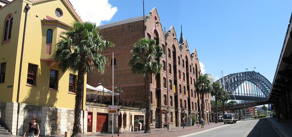 TheRocks, Sydney - by Greg O'Beirne:Wikimedia