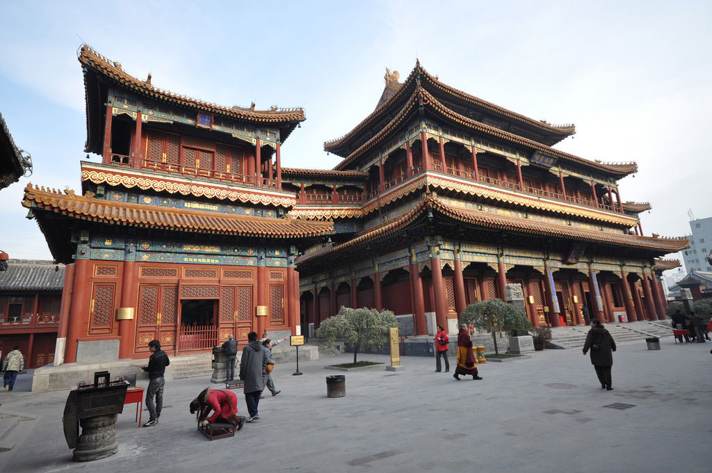 Yonghe Lama Temple, Beijing - by Jorge Láscar:Flickr