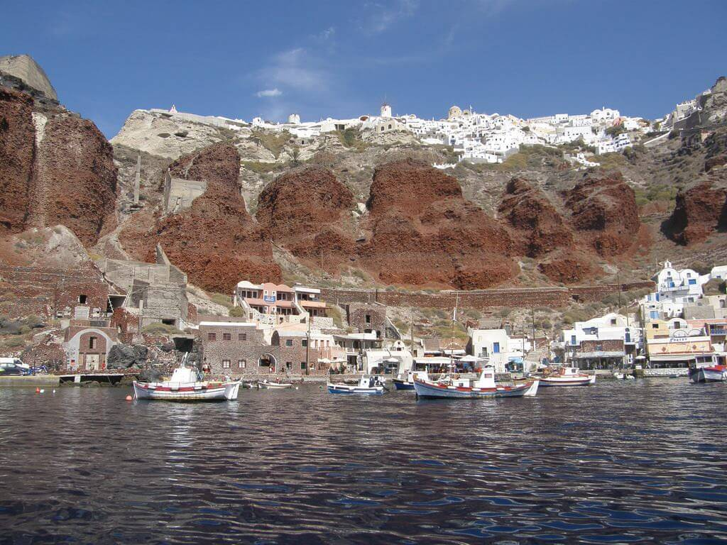 Amoudi Bay, Santorini - by Klearchos Kapoutsis:Flickr