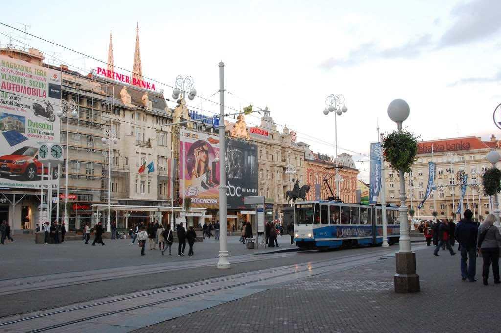 Ban Jelacic Square, Zagreb - by nhosko:Flickr