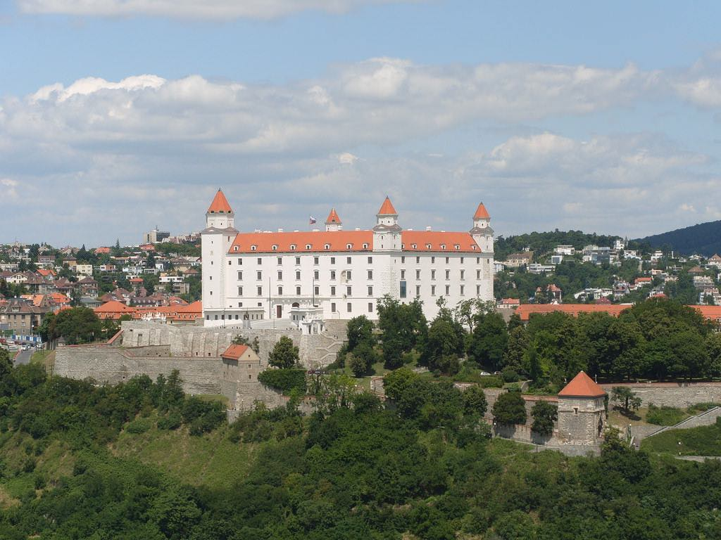 Bratislava Castle - by Charlie - Fearless Fred:Flickr