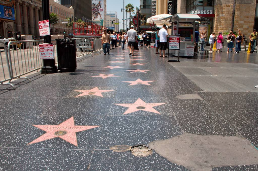 Hollywood Walk of Fame, Los Angeles - by Christian Haugen:Flickr