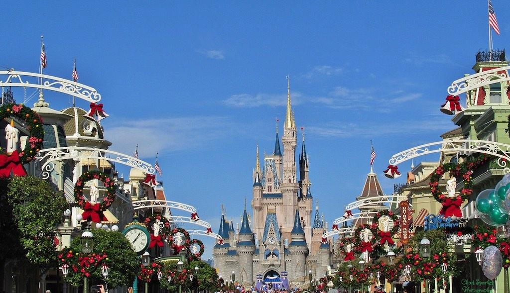 Magic Kingdom, Orlando - by Chad Sparkes:Flickr