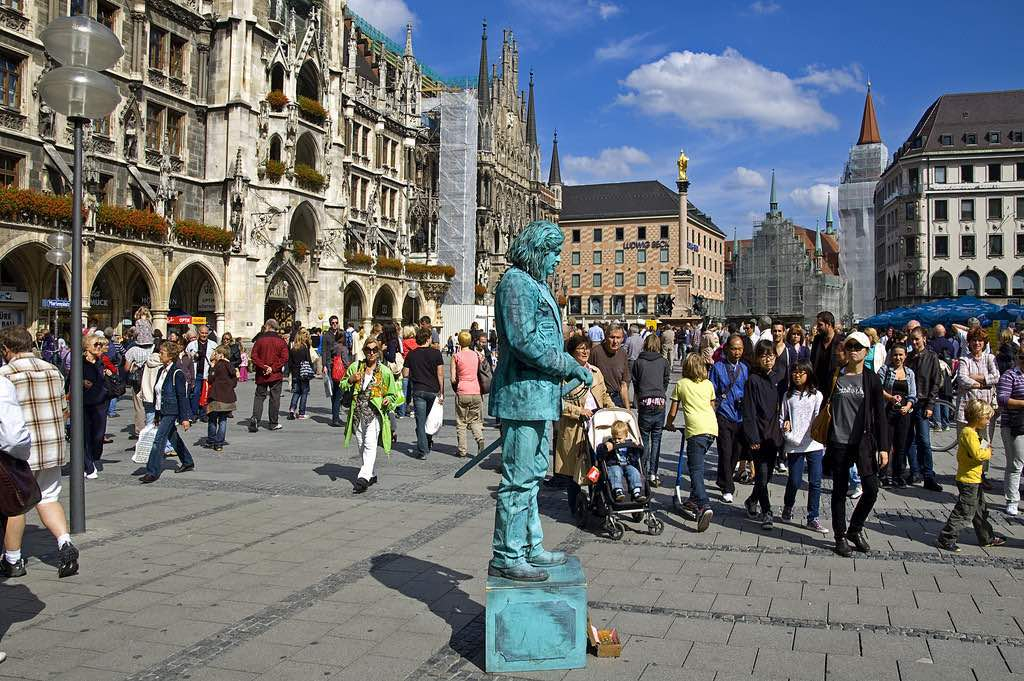 Marienplatz, Munich - by digital cat:Flickr