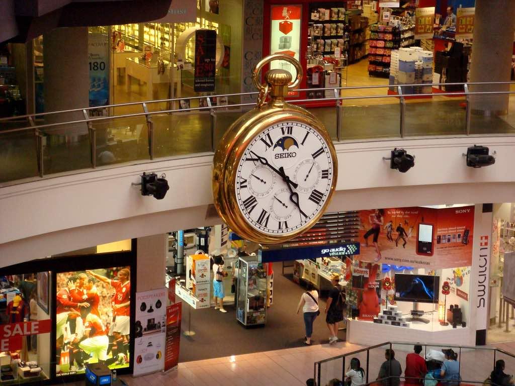 Melbourne Central shopping center - by dion gillard - diongillard:Flickr