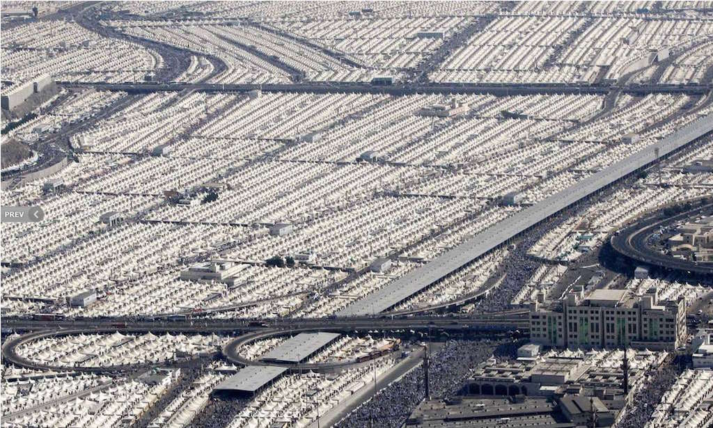 Mina, Mecca - Photo by Hassan Ammar