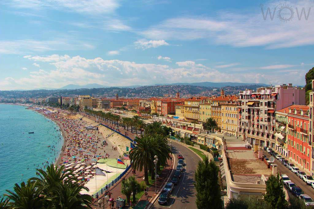 Promenade des Anglais, Nice - by WOW Travel