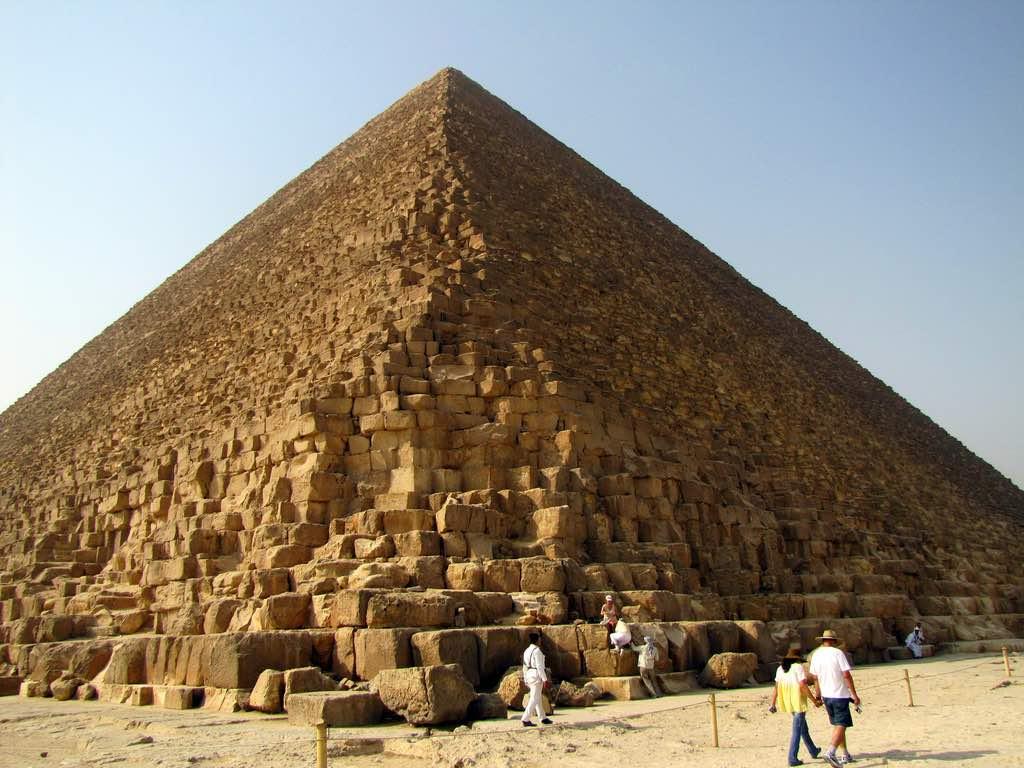 Pyramids of Giza, Cairo - by David Berkowitz:Flickr