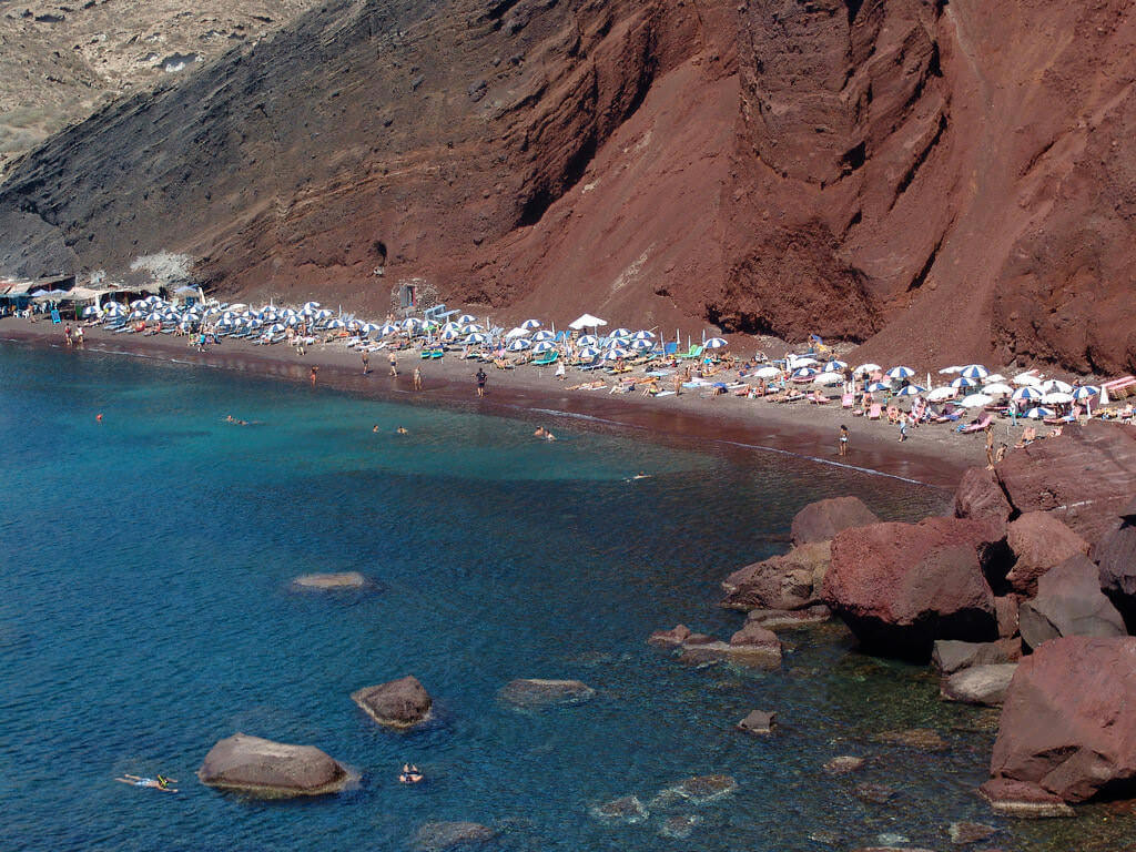 Red Beach, Santorini by Bryce Edwards:Flickr