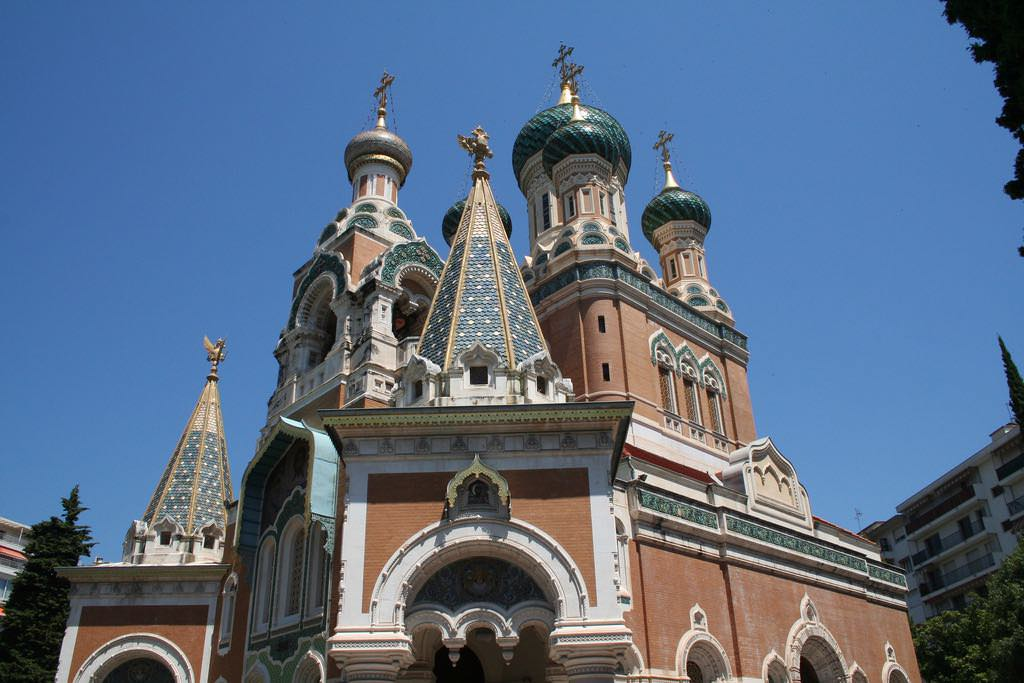 Russian Orthodox Cathedral, Nice - by Jim McDougall - jmmcdgll59:Flickr