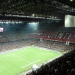 San Siro Stadium, 2009-08 Derby AC Milan vs. Inter, Milan - by nobbiwan/Flickr