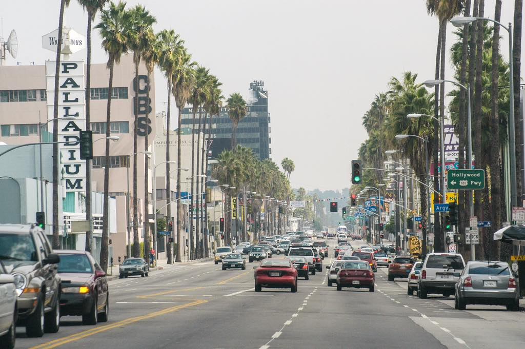 Sunset Boulevard, Los Angeles - by Kent Kanouse - Snap Man:FlickrSunset Boulevard, Los Angeles - by Kent Kanouse - Snap Man:Flickr