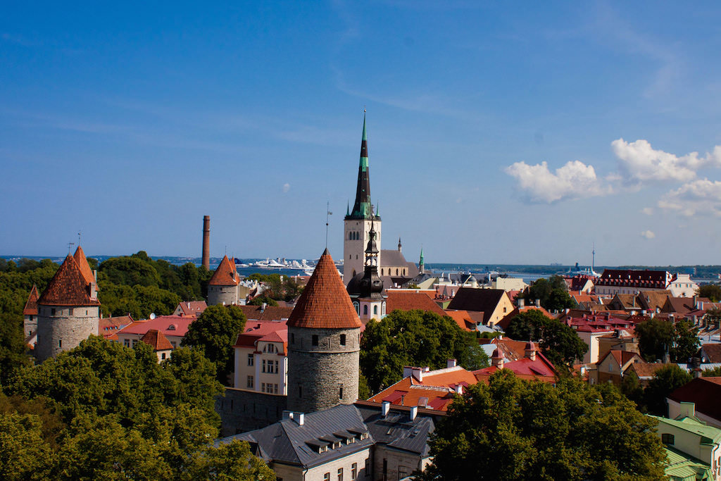 Toompea Hill, Tallinn - The view from the hill - by Aditya Karnad:Flickr