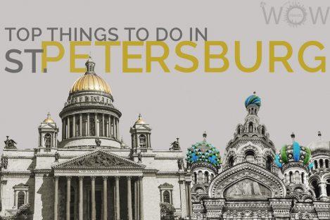 Top Things To Do In St. Petersburg