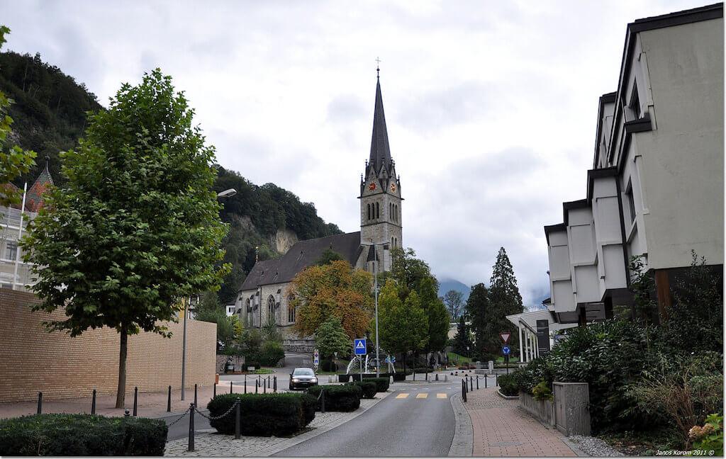 Vaduz Cathedral - by János Korom Dr. - korom:Flickr