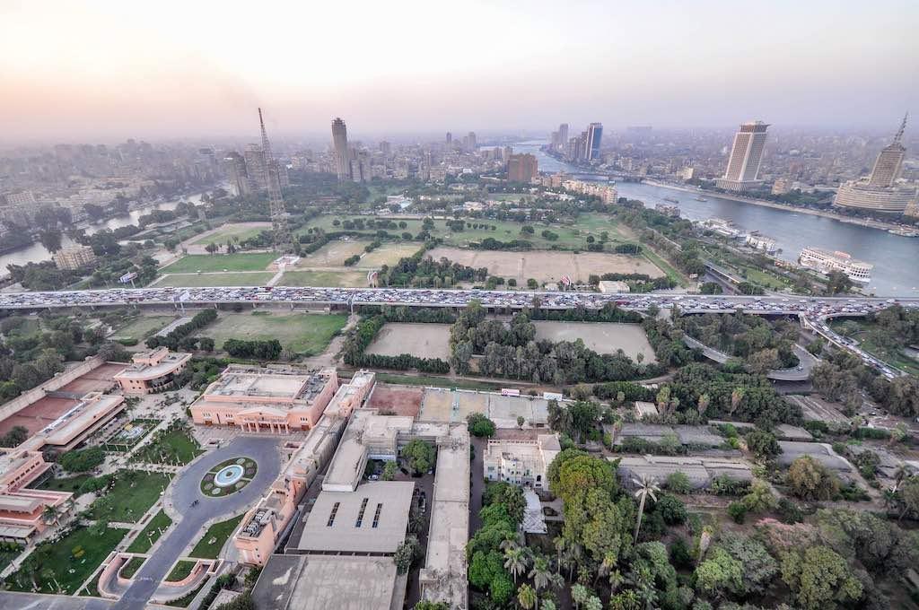 Zamalek District, Cairo - by Jorge Láscar :Flickr
