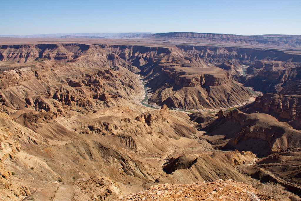 Fish River Canyon, Namibia - by Gerald de Beer - Gerald dB:Flickr