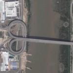 Macau - China border - by Google Maps