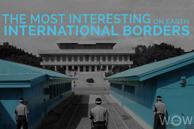 The Most Interesting International Borders On Earth