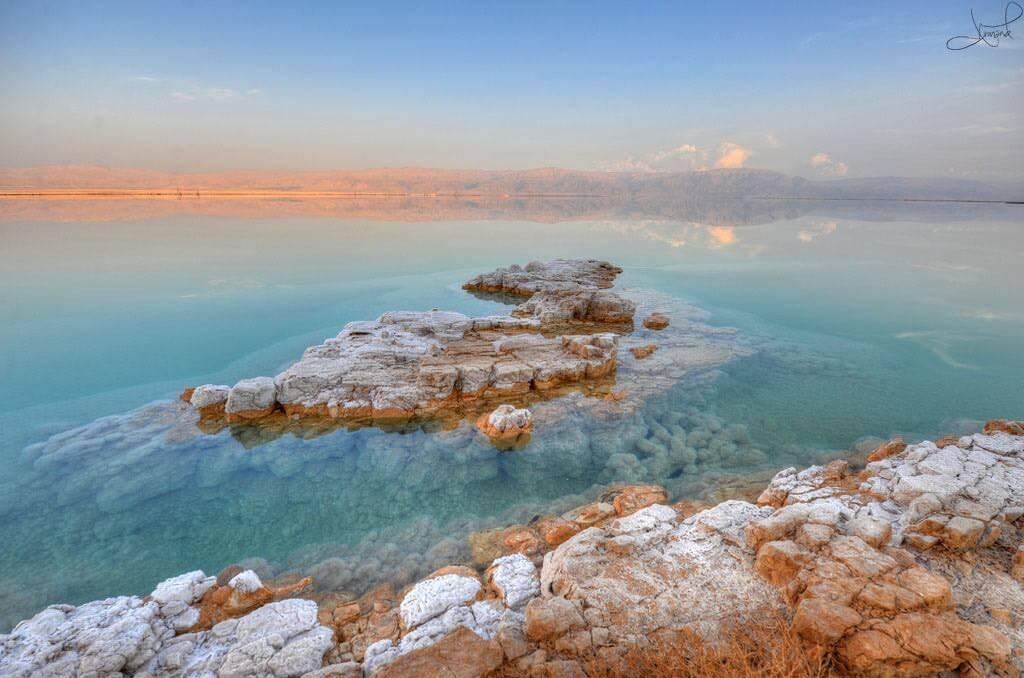 Dead Sea, Israel:Jordan - by tsaiproject:Flickr