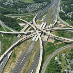 Interchange of I-695 and I-95, Baltimore - by i-95expresstolllanes.com