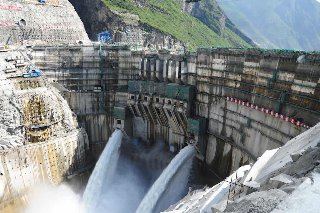 Jinping-I Dam, Yalong River, China - by cnstock.com