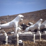Lions of Delos, Greece - by Institute for the Study of the Ancient World - isawnyu/Flickr