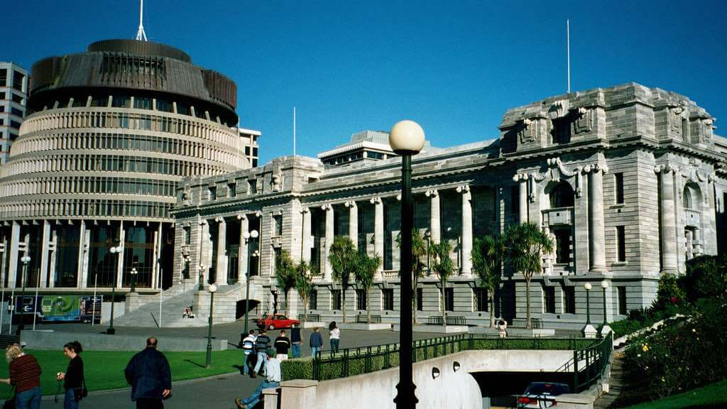 New Zealand Parliament, Wellington - by Global Reactions:Flickr