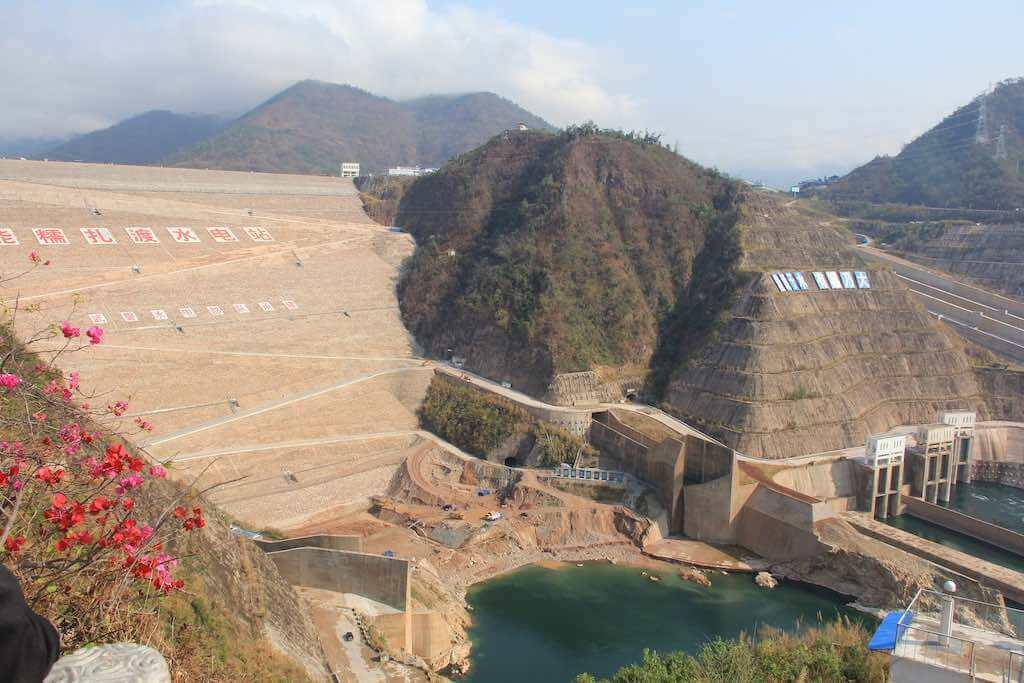Nuozhadu Dam, Lancang River, China - by International Rivers:Flickr