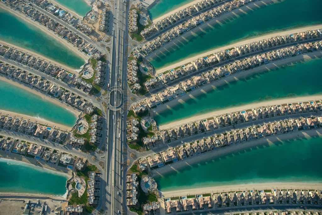 Palm Jumeirah, Dubai - by Aheilner:Wikimedia