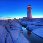 Peggy's Cove Lighthouse, Nova Scotia, Canada - by paul bica:Flickr