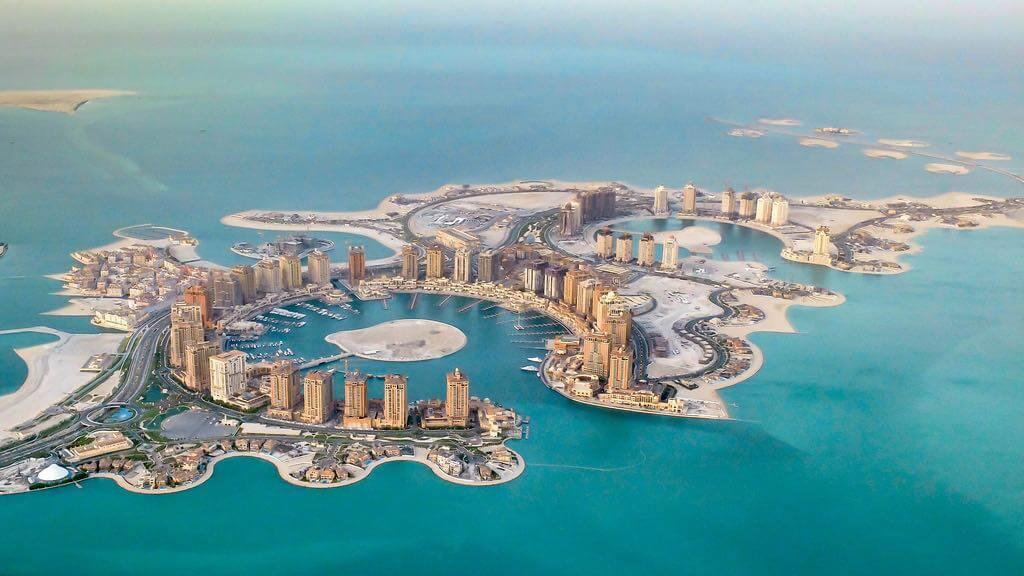The Pearl, Doha - by Arbiben:Wikimedia