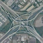 Tom Moreland Interchange, Atlanta - by Ray Spalding:Wikimedia