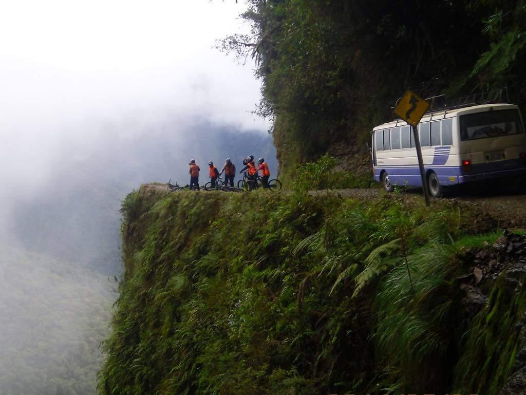 Death Road, La Paz - by Benjamin Dumas - benontherun.com:Flickr